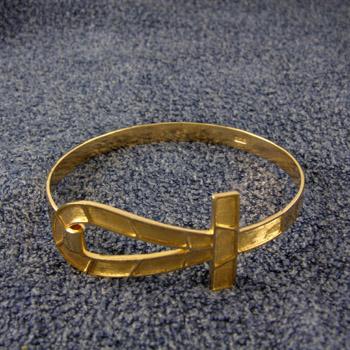 18K Ankh Key bracelet