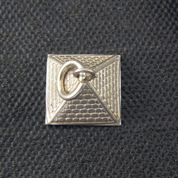 Silver great pyramid pendant (jewelry gifts)