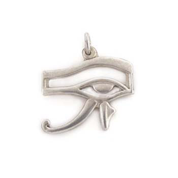 silver Horus eye pendant (jewelry gifts)