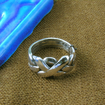 Silver Infinity Knot  ring (Rings Collection)