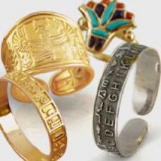 Egyptian Jewelry Pendants Rings